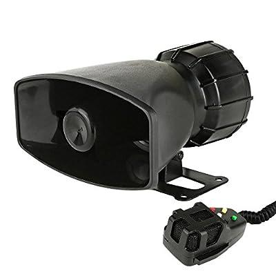 Pyle Surround Siren Horn Home Speaker, Set Of 1, Black (PSRNTK25)