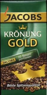 Jacobs Kronung Gold Instant Coffee Sticks 10 X 1 Cup - Gold Jacobs