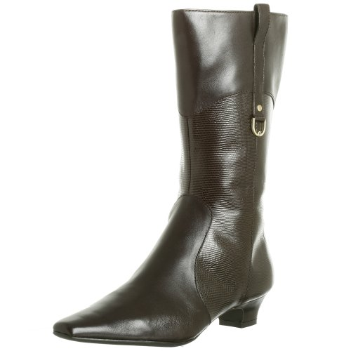 Etienne Aigner Women's Davin Boot,Godiva Lizard,8 -