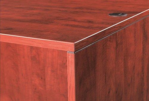 Marquis L-Shaped Desk W/Hanging Pedestals Dimensions: 66