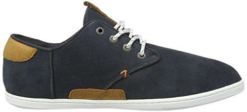 Hub Herren Chuckonian N33 Graffiato Low-top Sneaker Blau (navy)