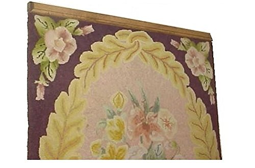 37-48 Inch Compression Type Quilt Rack Tapestry Rug Hanger - Pine (43) Matlock Woodworks