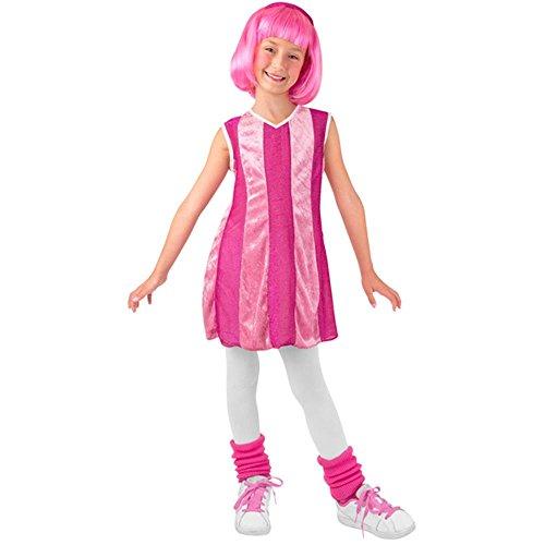 Kid's Lazy Town Stephanie Costume (Size: Small 4-6) (Stephanie Lazy Town Costume)