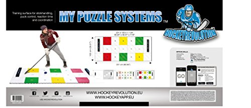 Hockey Revolution Professional Training Flooring Tile - MY PUZZLE SYSTEMS by Hockey Revolution (Image #2)