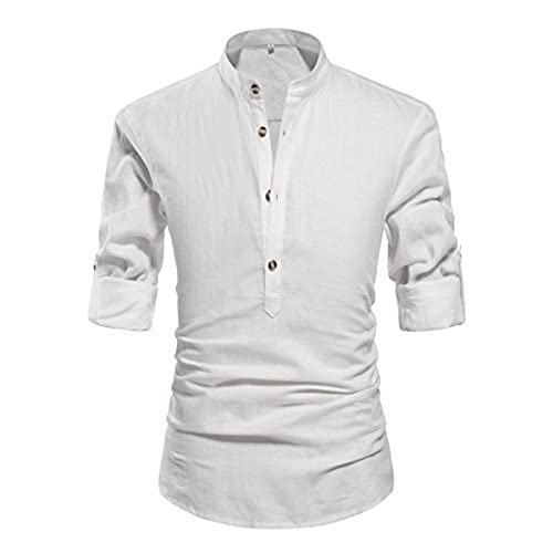 Well-liked Men's Linen Shirts: Amazon.com WT04