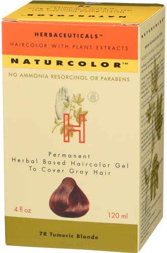 Naturcolor 7R Turmeric Blonde Hair Dyes, 4 Ounce