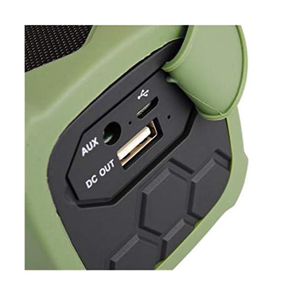 Haut-Parleur Portable Bluetooth étanche Voyage en Plein airHaut-Parleur Bluetooth Rouge 172mmx68mm 4
