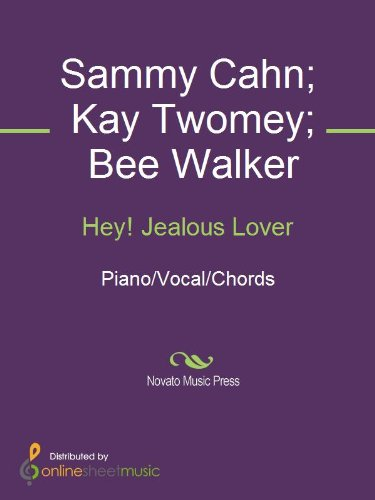 Hey Jealous Lover Kindle Edition By Bee Walker Frank Sinatra