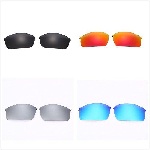 Set of 4 Polarized Replacement Lenses for Oakley Bottlecap Sunglasses - Cap Lenses Oakley Bottle