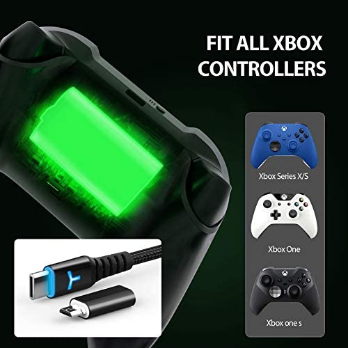 Rechargeable Controller Battery Pack for Xbox Series X|S and Xbox One with 10FT USB C Charging Cable and Micro USB Adapter 6amLifestyle Battery Pack Xbox Play and Charge Kit, XBOX-SB02 41LD4IlBUTL