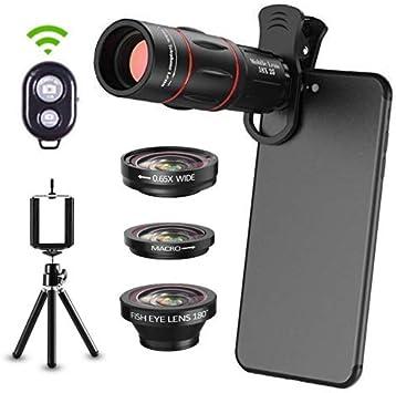 6 en 1 Kit de lentes de cámara para teléfonos Smartphone ...