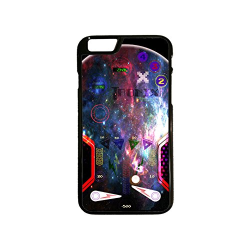 Apple iphone 6 Hybrid Pinball Galaxy Phone Case Black