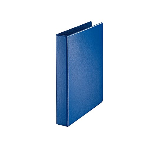 Leitz 46020035 Ring Binder Premium A4 PP Softclick 4 Rings 30 mm Blue ()