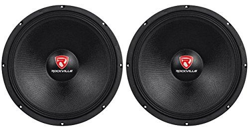 (2) New Rockville RVP15W4 2000 Watt 15