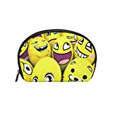 Toiletry Bag Cute Smiley Womens Beauty Makeup Case Brush Cosmetic Organizer