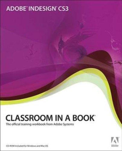 Adobe InDesign CS3 Classroom in a Book -