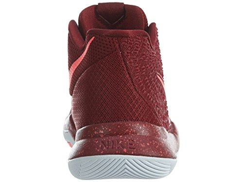Nike Kyrie III (PS) – TEAM Red/Total Crimson-White-P, multicolore, 11C