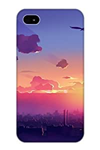 Summerlemond Design High Quality Anime City Cover Case With Ellent Style For Iphone 4/4s(nice Gift For Christmas)