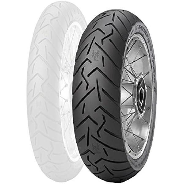 190//55ZR-17 75W Pirelli Diablo Rosso 3 Rear Motorcycle Tire for Ducati 1198//S Superbike 2009-2011