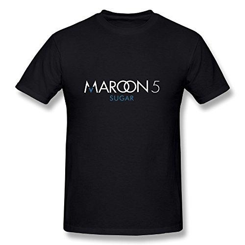 Maroon 5 Tour 2015 Fan Logo Tee Shirt For Men