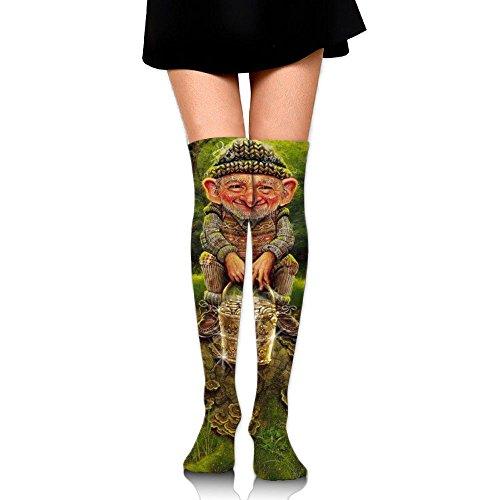 Leprechauns Thigh High Socks Soccer Knee High Over The Knee Socks For Women ()