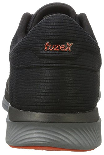 Rush Fuzex da Asics Uomo Cherry Black Nero Carbon Scarpe Tomato Ginnastica TZ7SdcqS