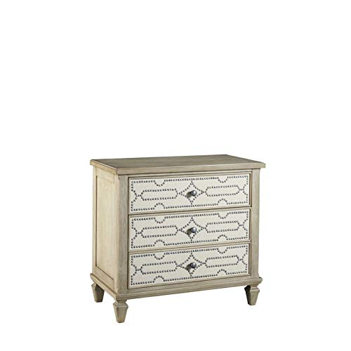 (Progressive Furniture Bachelor Chest in Flax Finish )