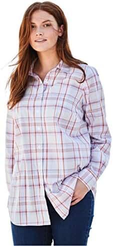 Women's Plus Size Long Sleeve Perfect Shirt