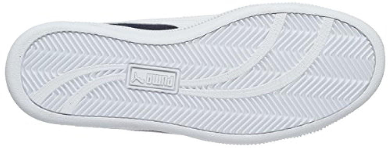 Puma Unisex Kids' Puma Smash Fun Sd Low-Top Sneakers blue Size: 4.5 UK