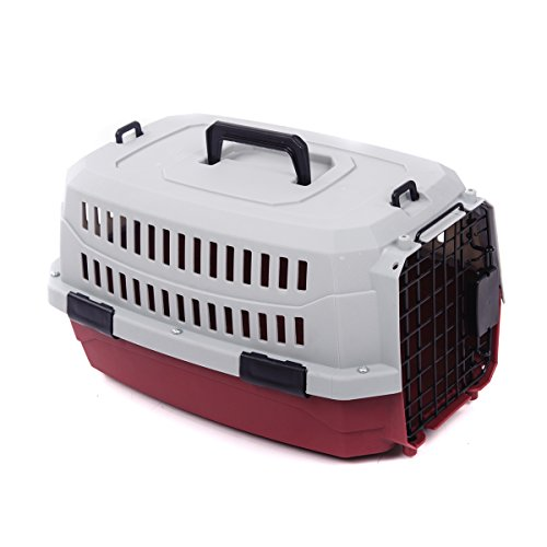 Favorite Portable Airline Approved Dog Crate Carrier/Outdoor Kennel/Cat Car Air Travel/Vet Visit