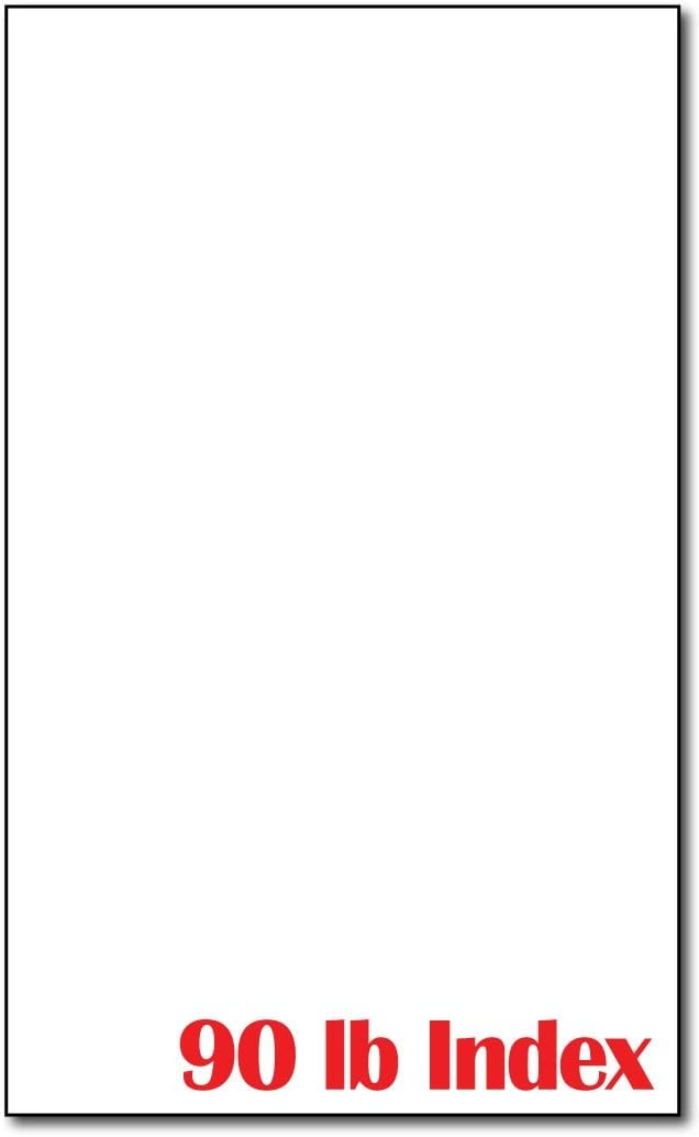 "Cardstock, White 90lb 8 1/2"" x 14"" - 250 Sheets"