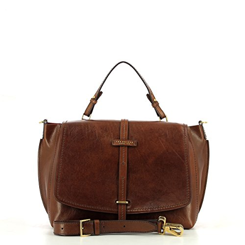 Dalston Marron cuir à cm Bridge Sac 37 The main zqagBOx