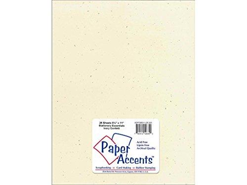 Accent Design Paper Accents Lite Stock 8.5x11 LiteStk -