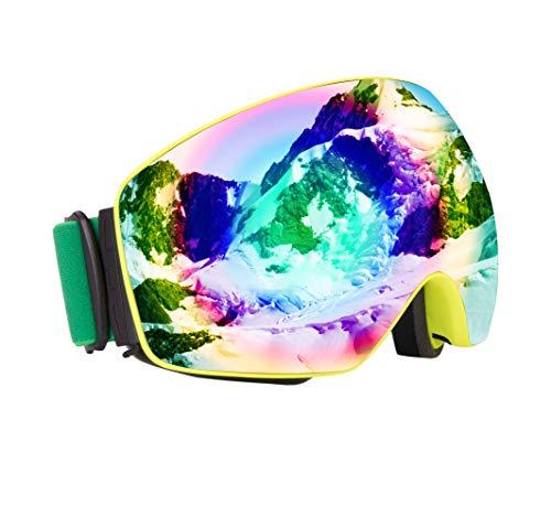fc783e2d3c OMG Shop Ski Goggles Snowboard Goggles Men Women Kids Anti-Fog Winter  Goggle Snowmobile Windproof Dustproof Glasses UV Protection Skate Ski Glasses  Eyewear ...