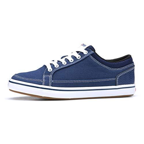 XTRATUF Chumrunner Canvas Men's Deck Shoes, Blue (XMC-200)