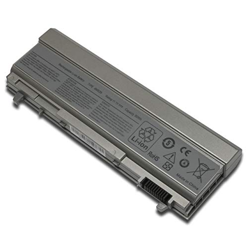New E6400 Battery for Dell Latitude E6510 Precision M2400 M4400, fits P/N: F8TTW PT434 PT437 KY266 FU274 FU571 MN632 MP303 MP307 W1193 KY477[11.1V 90Wh]