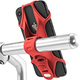 Universal Bike Phone Holder, Bicycle Handlebar Stroller Cell Phone Mount for iPhone Xs