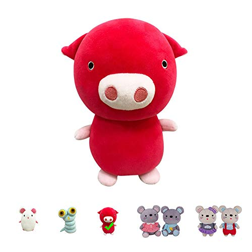 "Kailuoze Plush Stuffed Animal Pig 12"" Unique Soft Baby Doll Toy Cute Attractive Face Cuddling and Collectible Unmatched Quality Huggable Perfect Gift & Present Idea for Kids"