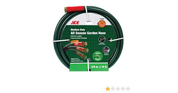 Amazon.com : Ace Flex-Tech All Season Hose (AC4258075) : Garden ...