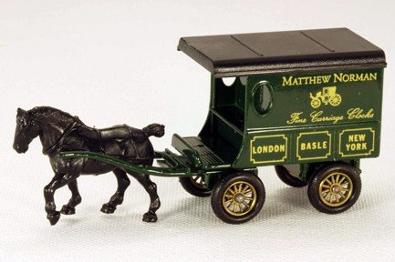 Lledo Days Gone DG036 Horse Drawn Matthew Norman Delivery (Drawn Delivery Wagon)