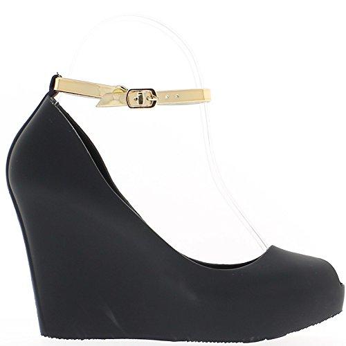 haupteingang Spangenpumps - Zapatos de vestir para mujer marrón Marrón-marrón 32 Giq5f