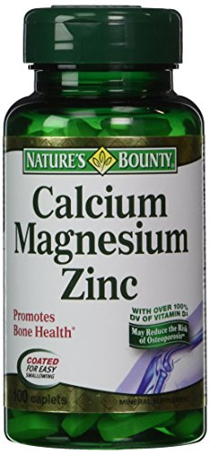 Nb Vit Cal/Mag/Zinc Size 100s Nature'S Bounty Calcium-Magnes