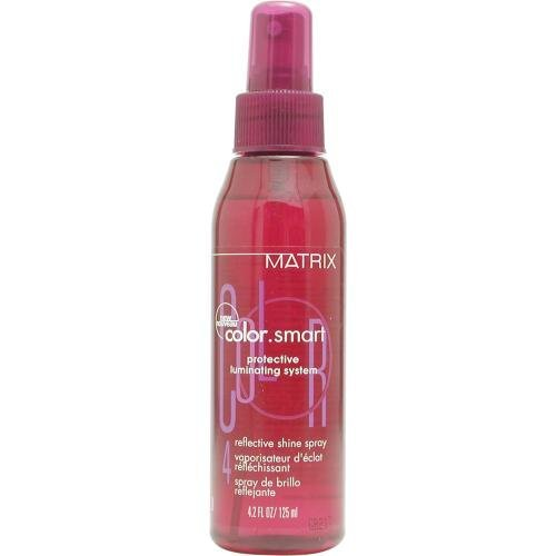 COLOR SMART by Matrix PROTECTIVE LUMINATING SYSTEM REFLECTIVE SHINE SPRAY 4.2 OZ ( Package Of 4 ) (Reflective Shine Spray)