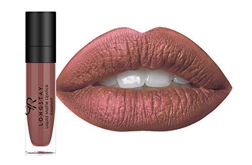 Golden Rose Long Wearing LONGSTAY Liquid Matte Lipstick (22 - Clay)