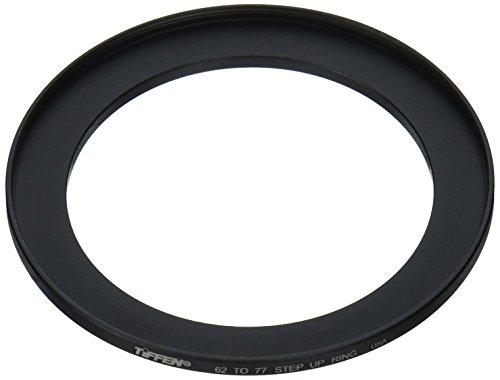Tiffen 6277SUR 62 to 77 Step Up Filter Ring (Black)