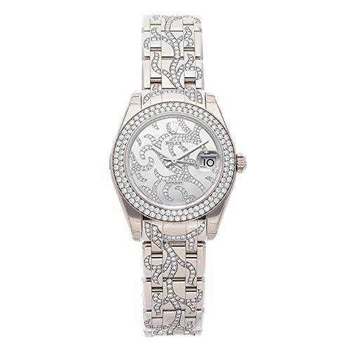 Rolex Datejust Mechanical (Automatic) Silver Dial Womens Watch 81339 (Certified Pre-Owned)