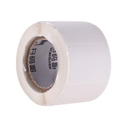 Aibecy 30 * 20 mm 1 rollo de papel térmico autoadhesivo papel de ...