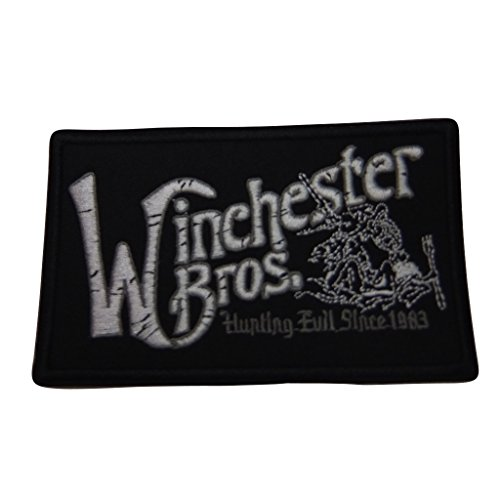 Supernatural Series Winchester Bros. Hunting Evil Since 1983 Embroidered Patch Decorative -
