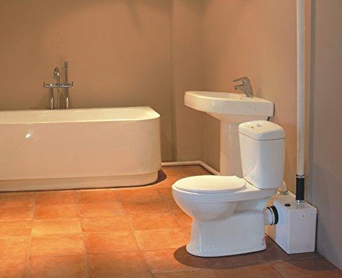 Pulsante scarico wc rotto: aquamach trituratore maceratore per wc w