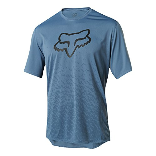 Fox Racing Ranger Jersey - Men's CNTR Slate Blue, L (Mens Rangers Jerseys)